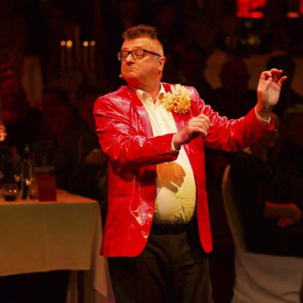Ralf Hafner in einer Comedy Show